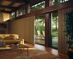 image of top sliding glass door window treatments