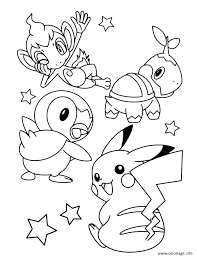 Pokemon Coloring Pages Pikachu Onefranklintowercom