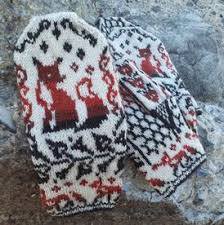 Mittens Pattern New Fox Crossing Mittens Knitting Patterns And Crochet Patterns From