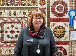 Katrina Hadjimichael's Blog: QuiltNSW Quilt Show & I was very excited to receive a First Place ribbon for my quilt
