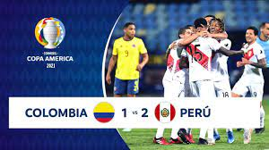 HIGHLIGHTS COLOMBIA 1 - 2 PERÚ |