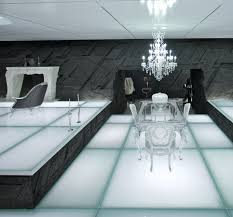 Legacy Dining Room Furniture Set Pieces The Look Of 39tron Legacy39 La At Home Los