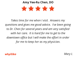Yee Ru Chen Do Downtown Family Medicine Doctor Kelsey