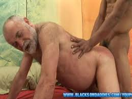 Black afrikan granpa big penis