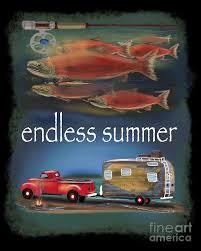 Endless Summer Fly Fishing Digital Art by Doug Gist