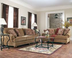 Living Room Design With Brown Leather Sofa Apartment Modern Black Theme Apartment Living Room Apartment