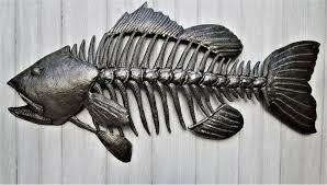 fish wall hanging small mouth bass