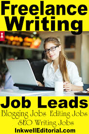 lance writing blogging editing marketing job leads salary 25 to 35 hour
