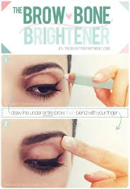 the eyebrow trick that gives your eyes an instant lift