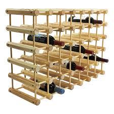 modular wine rack 40 bottle capacity by j k adams