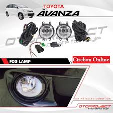 Jual Fog Lamp All New Avanza Xenia Merk Otoproject Asli Lampu