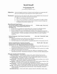 Security Officer Resume Objective 24 Unique Security Officer Resume Sample Objective Resume Cover 10