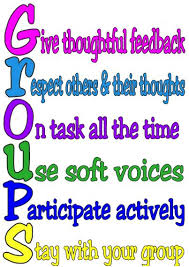 best group rules ideas groups poster group students must be taught how to work in groups assign roles and provide group work rules