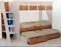 wooden bunk bed with trundle image of bunk beds with trundle and storage desk white wooden