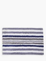 john lewis partners coastal sail stripe bath mat
