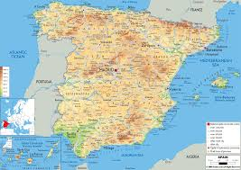 download map spain  major tourist attractions maps
