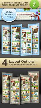 killer graphic hero 50 newsletter template design by graphicriver e commerce offers email template design vol 2