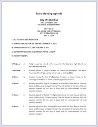 Regular Business Meeting Agenda Template PDF Example SlideShare