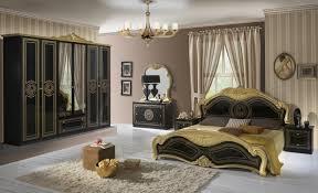 Barock Schlafzimmer Schwarz Gold Lusinda 4 Teilig Kaufen Bei Möbel Lux