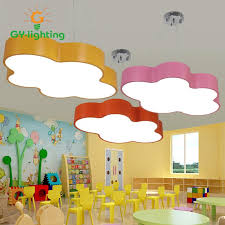 colorful children bedroom pendant lights led modern simple cloud shape lamps for kid s room children s hospital hanging light hanging lamps for bedroom