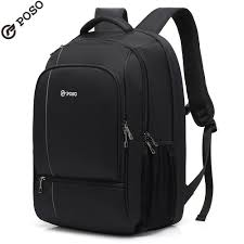New POSO Backpack Multifunction <b>17.3 inch Laptop Backpack</b> ...