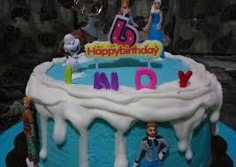 Resep Birthday Cake Simple Frozen Theme Oleh Rachma Esty Utami