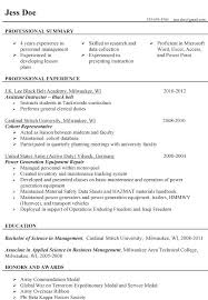 Military To Civilian Resume Template Interesting Simple Resume Template Military To Civilian Resume Template