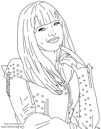 The coloring page is printable and can be used in the classroom or at home for kids. Disney Descendants Coloring Pages Printable Ccsalameda Free Coloring Pages