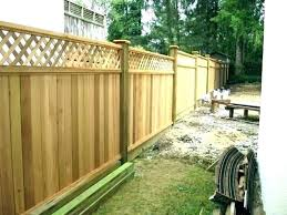 fencing at home depot fence sections 8 foot panels cedar boards temporary chain link garden border