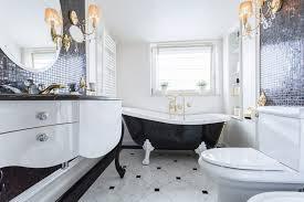 beautiful black bathroom chandelier 41 bespoke bathrooms with glittering chandeliers