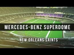 3d Digital Venue Mercedes Benz Superdome Nfl New Orleans