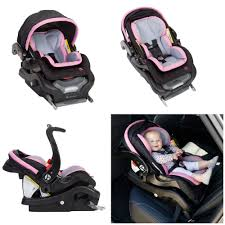 details about baby trend secure snap gear 35 infant baby car seat safety girls pink sorbet