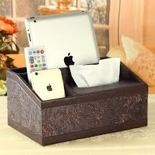 ful PU Leather <b>Tissue</b> Pumping <b>Box Fashion Box Multifunctional</b> ...
