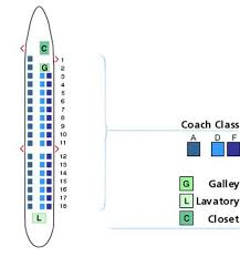 Aeromexico E90 Seating Chart 54 Uncommon Seating Chart For Embraer 170