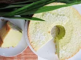 Resep Kue Pandan Chiffon Cake Youtube