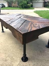 black iron furniture. Iron Pipe Coffee Table View Larger Diy Black Furniture P