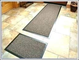 cotton kitchen rugs green