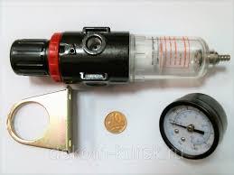 """<b>Фильтр</b>-<b>регулятор</b> давления <b>1/4</b>"""", с манометром <b>FUBAG</b>: продажа ..."""