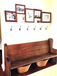 Diy Coat Rack Bench Diy Coat Rack With Bench Bench And Coat Rack Entryway Bench Coat 44