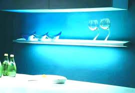 glass shelf lighting led edge