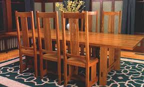 synopsis rex alexander designed a set of dining chairs inspired by the work of greene and greene stickley frank lloyd wright and others