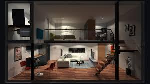 Stunning Best Loft Apartments Contemporary Amazing Design Ideas - Industrial apartment