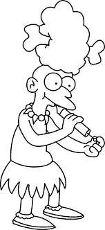 Free Coloring Pages For Kids Simpsons Coloring Pages Awing 19768 ...