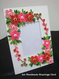 Paper Flower Frame Azlina Abdul Paper Photo Frames With Quilled Flowers Quilling