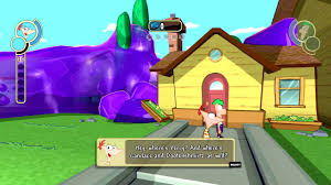 phineas and ferb across the 2nd dimension ps3 walkthrough part 1