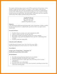 Best Cna Example Resume Pictures Simple Resume Office Templates