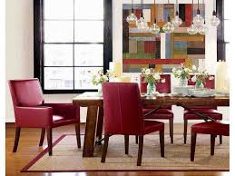 best 25 red leather chair ideas on leather pertaining to modern house red leather dining chairs remodel