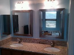 double vanity lighting. Enchanting Vanity Lighting Fixtures With Floral Lamp Shade Design And Double Bathroom Undermounted I