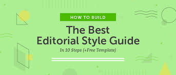 Style Template How To Build The Best Editorial Style Guide In 10 Steps Free Template