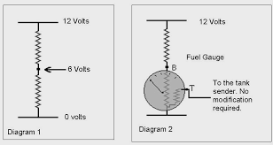 conversion to 12 volt if you connect two equal resistances in series one after the other across a voltage then the voltage at the junction